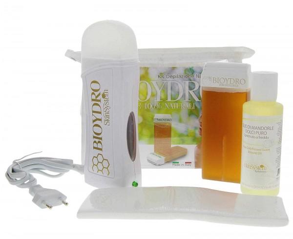Set Wachspatrone mit Erhitzer Bioydro Zucker Honig - Wasserlöslich, SkinSystem, 100ml