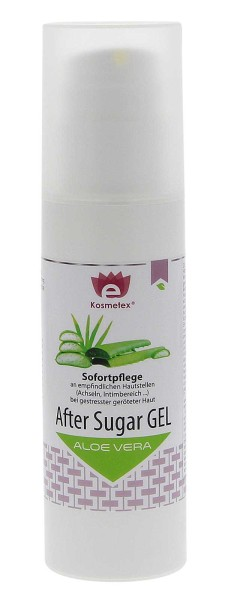 Kosmetex After Sugar Gel Aloe Vera, Sofortpflege 150ml