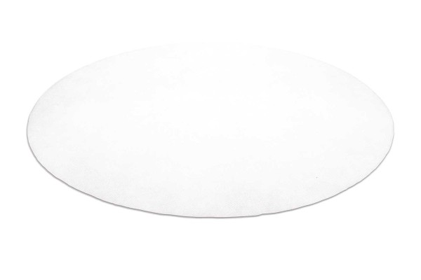 50x Wasserdichter Einweg-Teppich Vorleger, rutschfest weiß Ø 45 cm