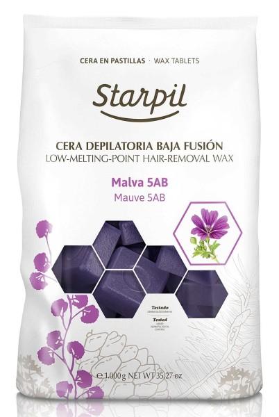 Starpil Malva 5AB Hartwachs Blöcke for Men, 1kg