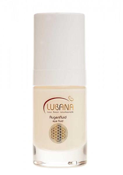 LUBANA basisches Augenfluid, pH 7,6, ohne Silikone, bassiche Pflege, Augenpflege, kühlt, 15 ml