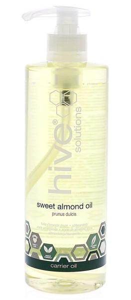 Hive Solutions Süßes Mandelöl, Basisöl für die Aromatherapie, Trägeröl, 400ml