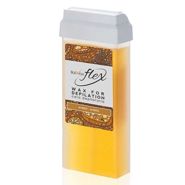 Wachspatrone Amber FLEX Italwax, 100 ml