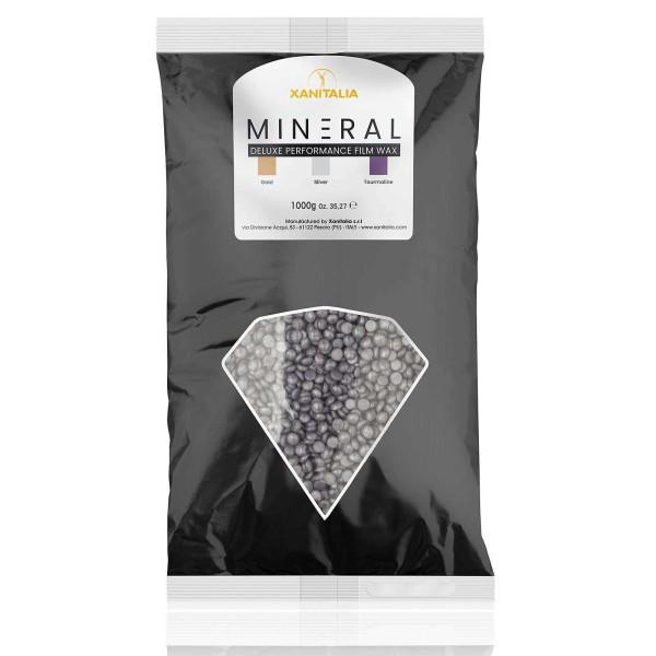 Wachsperlen Silber Mineral Performance Film Wax, Xanitalia 1000g