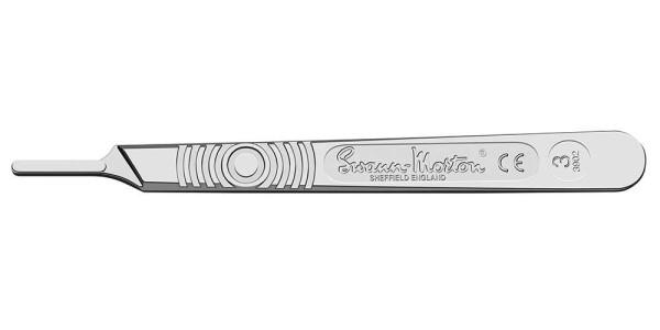 Skalpellgriff Nr. 3 Swann Morton 12cm Skalpellhalter 2191