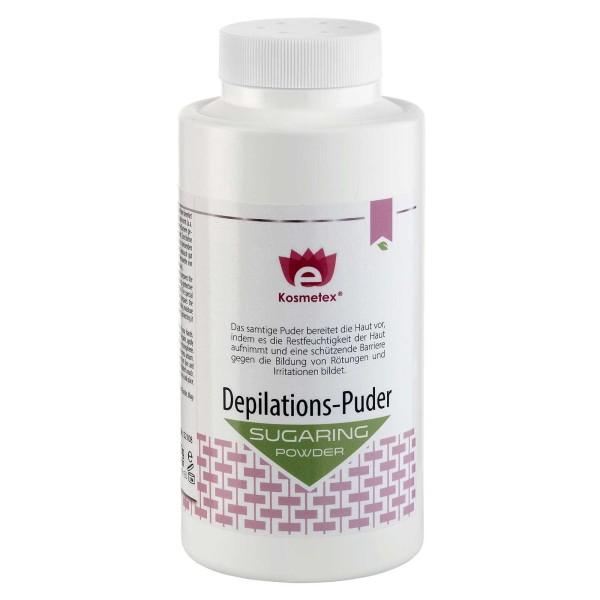 Kosmetex Depilations Puder Groß für die Vor-Behandlung beim Waxing, Sugaring m. Zucker-Paste, 200ml