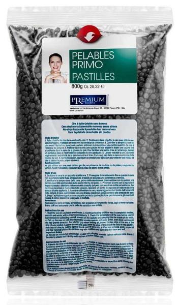 Premium Wachsperlen Pelable Primo Black Xanitalia, 800g