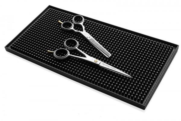Scherenablage, Instrumenten Ablage Silikonteppich, 30 x 15 cm