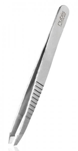 Rubis Pinzette Classic Pro Grip, schräge Spitze Tweezers