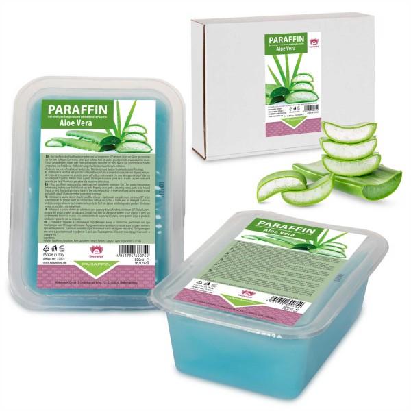 Kosmetex Paraffin Aloe Vera, Paraffinwachs, 2 x 500ml