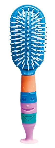 Kinder Haarbürste, Haarkamm, Kinderkamm, eine Kinderbürste mit Saugnapf