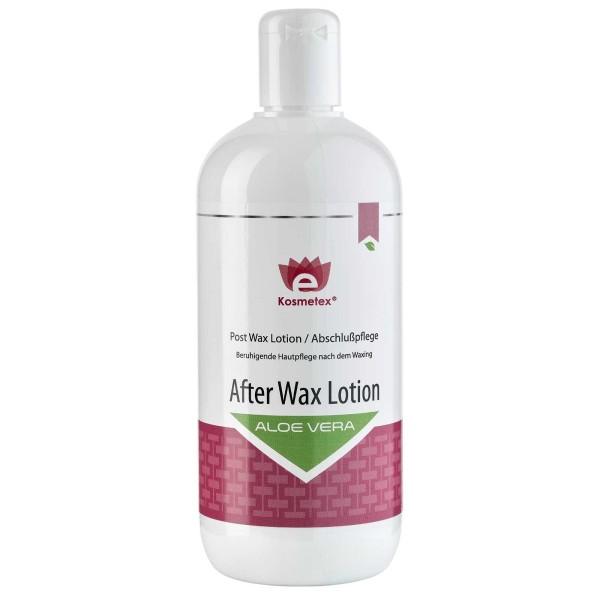 Kosmetex Aloe Vera After Wax Lotion, beruhigend nach dem Waxing, POST DEPILAZIONE, 500ml
