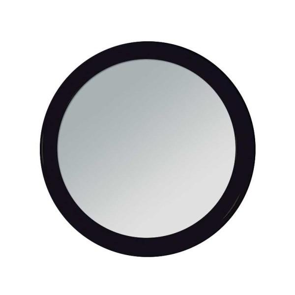 Runder kleiner 7.5 cm Taschen-Spiegel - Handspiegel, Kosmetex Spiegel mit Kunststoff Korpus, verschi
