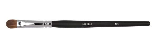 Lidschattenpinsel, 120 mm breite Augenpinsel, Make-up Pinsel aus Marderborste