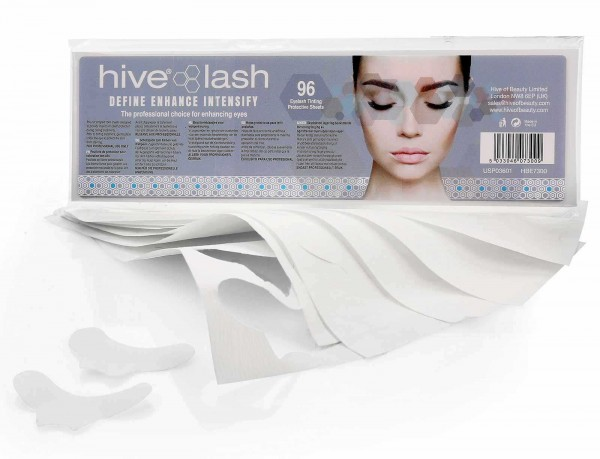 96 x Hive Wimpernblättchen zum Schutz vor Hautanfärbung