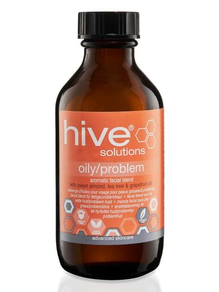 Hive Ölmischung für fettige und problematische Haut, Gesichtöl, Solutions, 75 ml