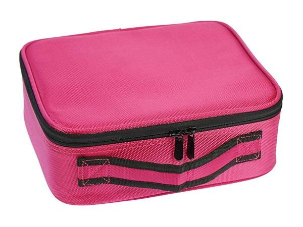 Beauty Tool Case pink mit Organizer-Einteilungen verstellbar