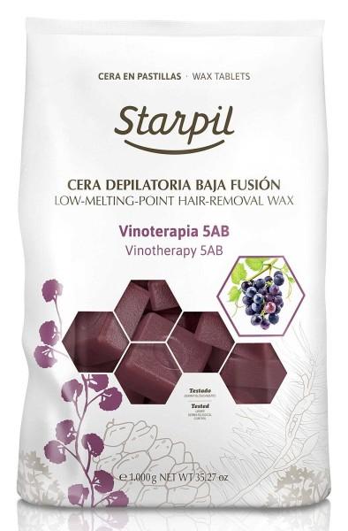 Starpil Vinotherapy 5AB Hartwachs Blöcke, 1kg