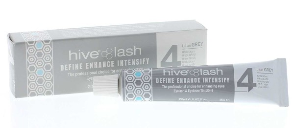 Hive Grau Nr. 4 Wimpernfarbe und Augenbrauenfarbe, 20 ml Urban Grey