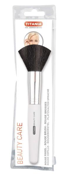 Titania Puder-Pinsel, Make up Pinsel, Naturhaar Kosmetikpinsel, groß, weich