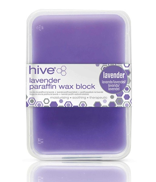 Hive Lavendel Low Melt Paraffinwachs für Paraffinbad, 450g