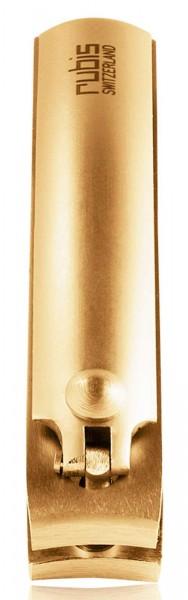 Rubis Kleiner Nagelknipser Gold