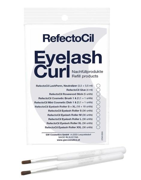RefectoCil Pinsel, Curl Refill 2x Kosmetikpinsel
