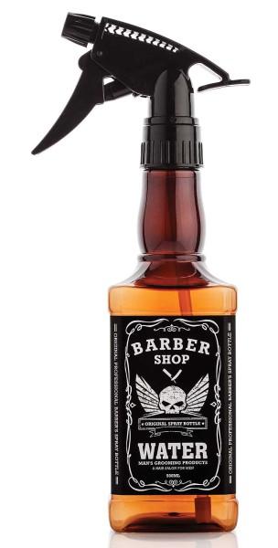 Barber Shop Sprühkopf-Flasche 500 ml, Leere Sprühflasche mit Zerstäuber