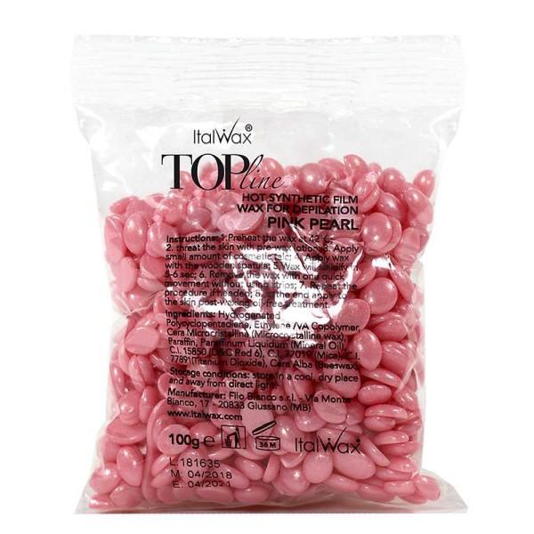 Filmwachs Top Line Pink Pearl Italwax Hot Film Wax Wachsperlen,
