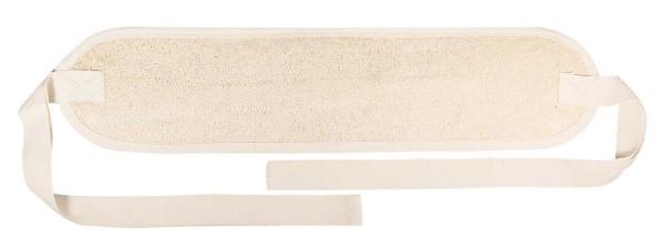Luffa Rückengurt für Peeling und Massage, Kosmetex Rückenreiber, 40cm