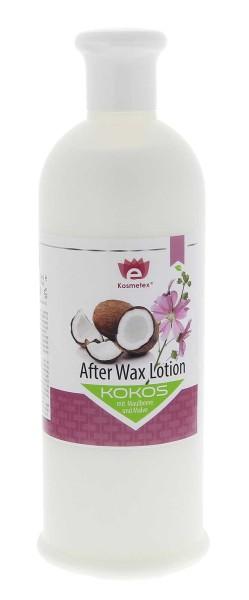 KosmetKokos After-Wax Lotion mit Maulbeere und Malve, nach Waxing, Zuckern, 500ml