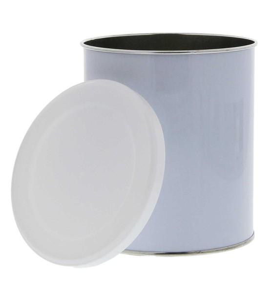 Leere Dose mit Plastikdeckel, Wax Ersatzdose, Wachstopf, 800ml