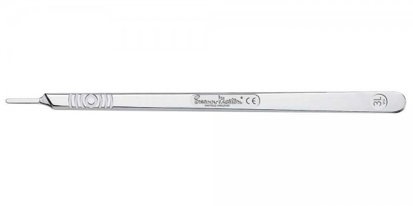Skalpellgriff Nr. 3L Swann Morton 21cm Skalpellhalter 814