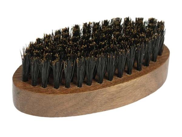 Bartbürste aus Walnus Holz