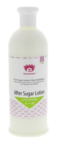 Kosmetex After Sugar Lotion mit Vitamin A und E, 500ml