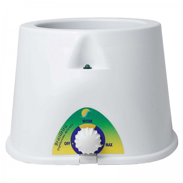 Brasil Wachserwärmer für 400ml Dosen, Kosmetex Erhitzer für Wachsdosen, Wachsperlen, Wachsscheiben