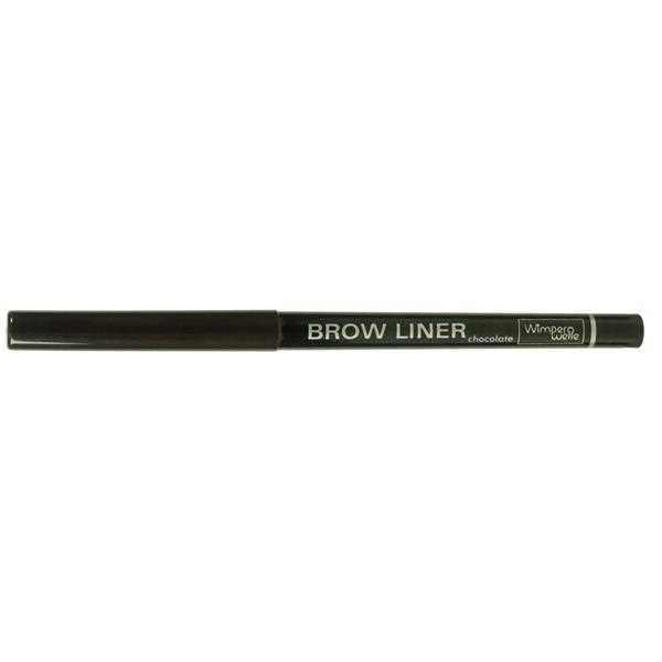 Wimpernwelle BROW LINER, Augenbrauenstift, chocolate