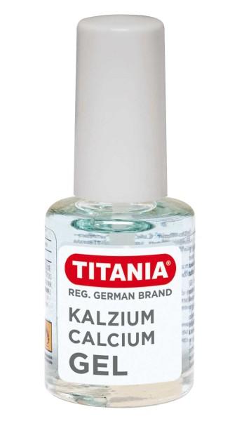 Titania Kalzium Gel, Überlack Topcoat, Nagel stärkend, 10ml