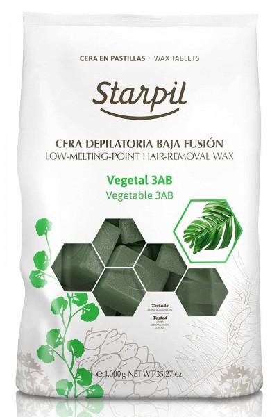 Starpil Vegetable 3AB Hartwachs Blöcke, 1kg