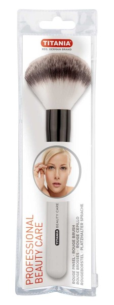 Titania Puderpinsel, Make up Pinsel, Powder Brushes, Schminkpinsel, Kosmetikpinsel, groß, weich, 1 S