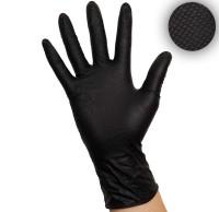 Grip Nitrilhandschuhe Black, Schwarze Arbeitshandschuhe, Einmalhandschuhe