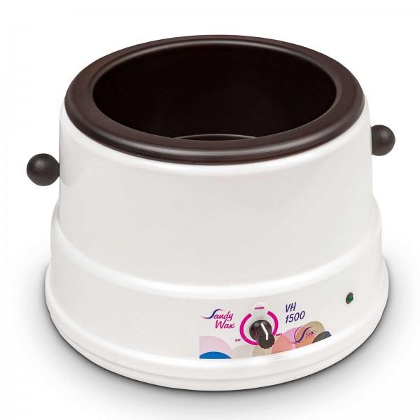 Wachserwärmer für 1.5 kg, Kosmetex Erhitzer für Wachsperlen, Wachsscheiben, Wachsblöcke