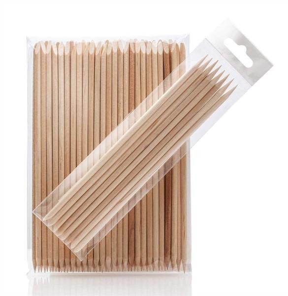 Holzstäbchen, 15 cm, für Augenbrauen Waxing Augenspatel