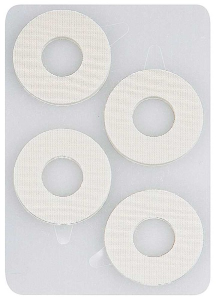 Druckstellen 8x Schutzringe Kosmetex, selbstklebend weiche Druckentlastung für Hornhaut, Schwielen u