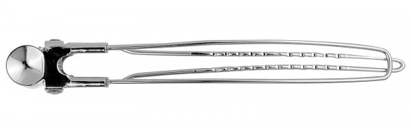 12x Schnabelspangen, 12 cm Stahl Haarklammern, Haarclips Abteil