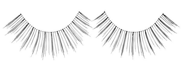 Künstliche Wimpern Fly Elegance, Wimpernband inkl. Kleber