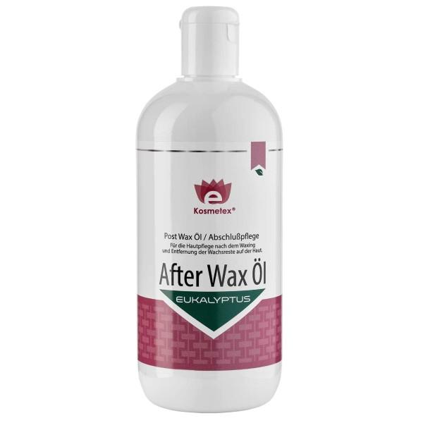 Kosmetex After Wax Öl mit Eukalyptus entfernt Wachsreste nach dem Wachsen - Waxing, Abschlußpflege,