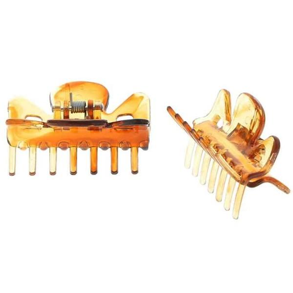 Haarklammern (braun), Abteilklammern Greifspangen, Wellenreiter für langes Haar
