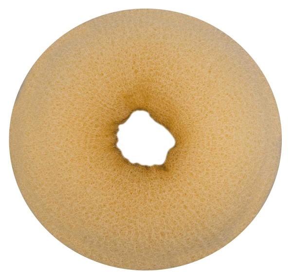Haarkissen Ø 11cm, Duttkissen, Donut-Form, Haarring aus Frottee, blond