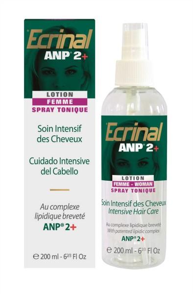 Ecrinal Spezial Haarwasser ANP 2+ für Damen, Tonic Spray, Intensiv Haar-Behandlung bei Haarausfall,